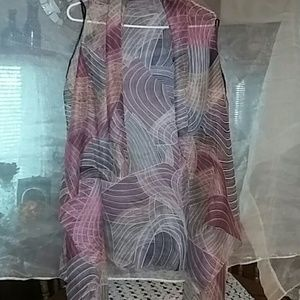 Womens top shawl  sheer